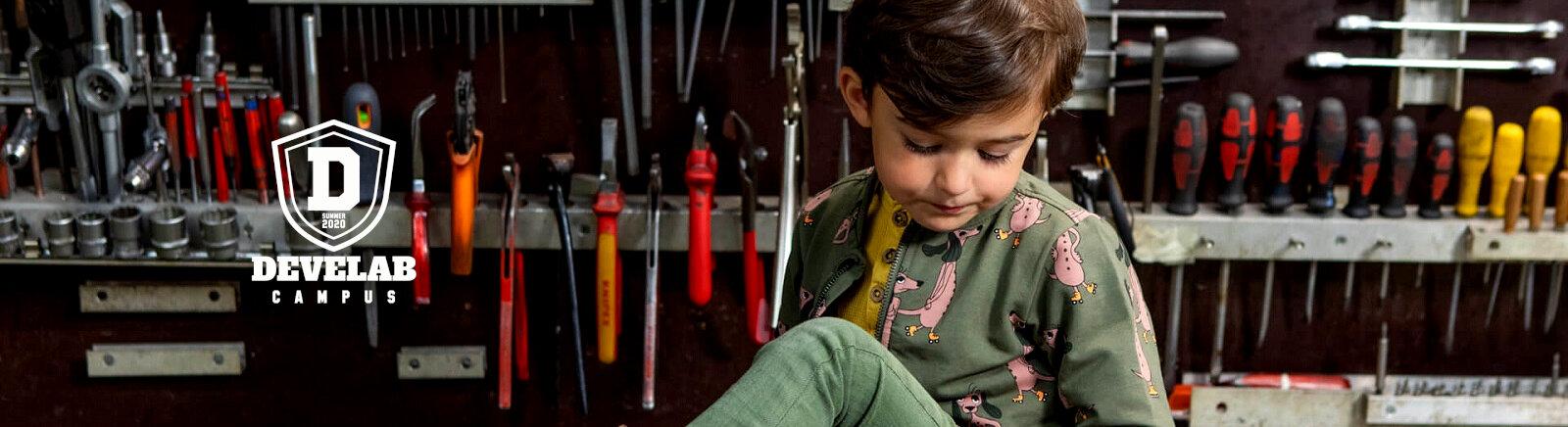 Develab Lauflernschuhe für Kinder im Online-Shop von GISY kaufen