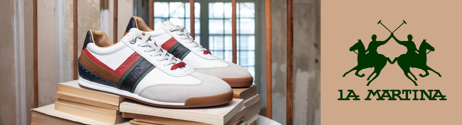 La Martina High-Top-Sneaker für Herren im Online-Shop von GISY kaufen