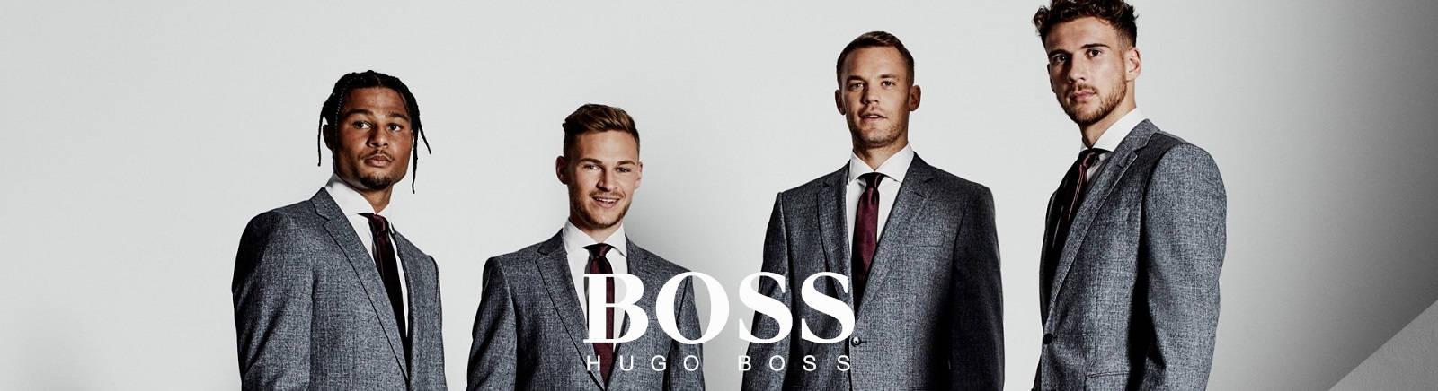 BOSS elegante Herrenschuhe aus Leder bei Prange online kaufen
